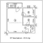 Instalatie electrica garsoniera –  pret estimativ